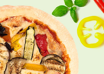 Italian producer  of organic and vegan pizza, organic pizza bases,  organic gluten-free pizza, vegan gluten-free pizza.