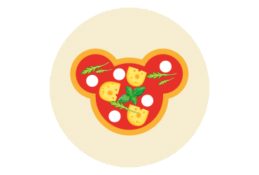 Production of fancy-shaped pizza and pizza bases